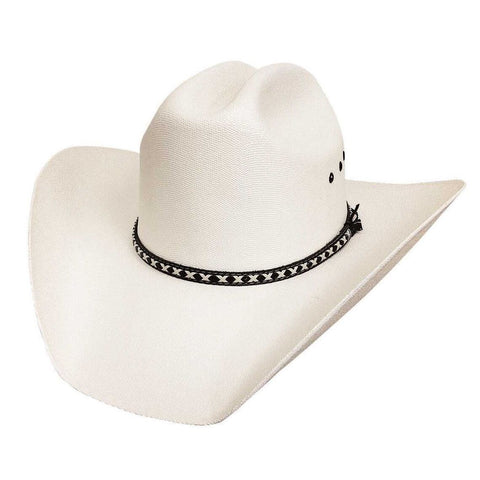 Bullhide Englewood 10X Natural Straw Cowboy Hat - Hat - A - Tack