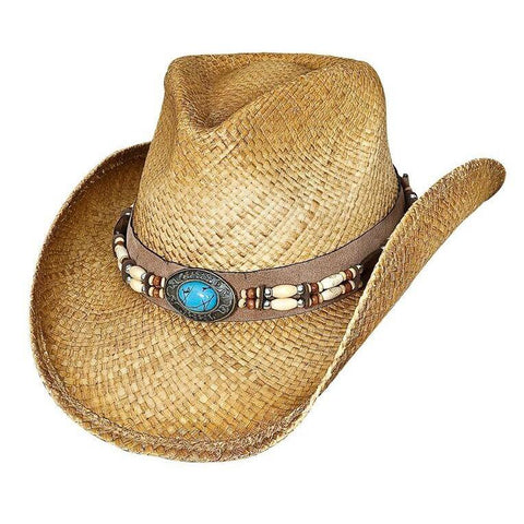 Bullhide Forbidden Treasure Natural Straw Cowgirl Hat - Hat-A-Tack