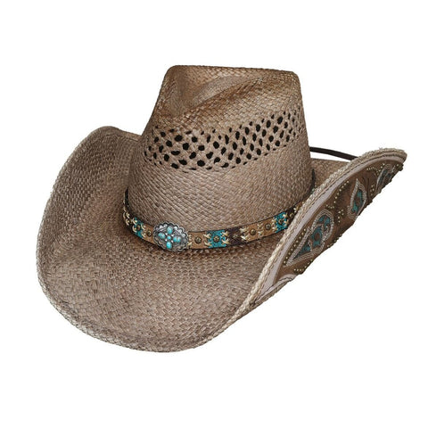 Bullhide From The Heart Natural Straw Cowboy Hat - Hat-A-Tack