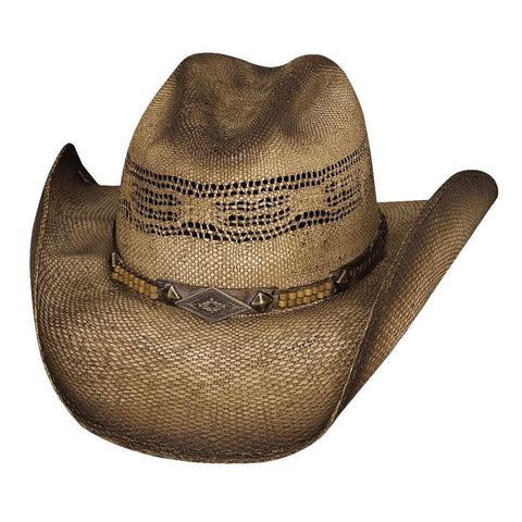 Bullhide Full Speed Natural Straw Cowboy Hat - Hat-A-Tack