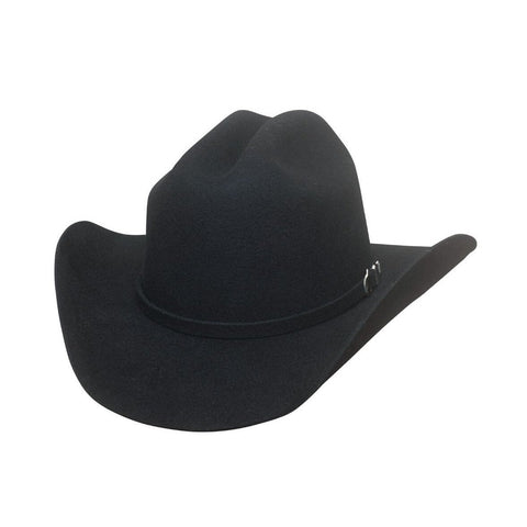 Bullhide Futurity Black Wool Childrens Cowboy Hat - Hat-A-Tack