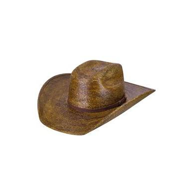 Bailey Fender Tea Stained Straw Cowboy Hat - Hat - A - Tack