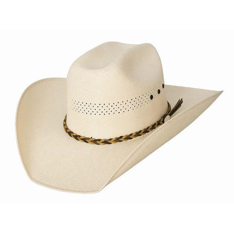 Bullhide Gear Up 50X Natural Straw Cowboy Hat - Hat - A - Tack