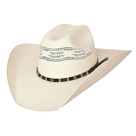 Bullhide Go-Round 20X Natural Straw Cowboy Hat - Hat - A - Tack
