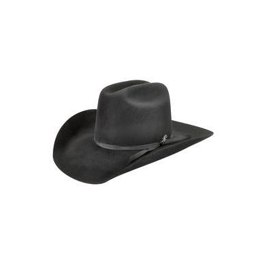 Bailey Harshaw 2X Black Wool Cowboy Hat - Hat - A - Tack