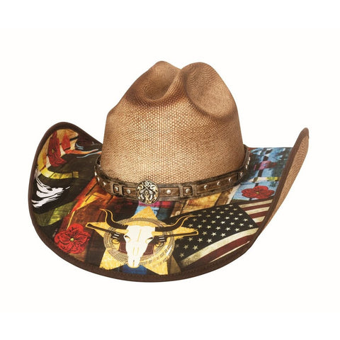Bullhide I Need A Drink Natural Straw Cowboy Hat - Hat-A-Tack