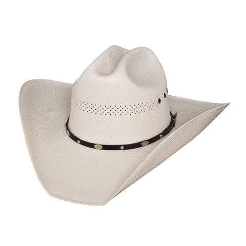 Bullhide JM Limited Edition 50X Natural  Straw Cowboy Hat - Hat - A - Tack