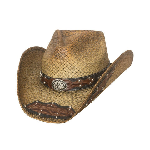 Bullhide Leading The Charge Natural Straw Cowboy Hat - Hat - A - Tack