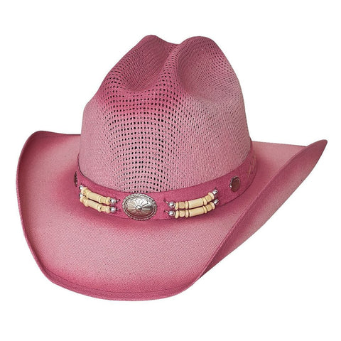 Bullhide Little Goodbye Pink Children's Straw Cowgirl Hat - Hat - A - Tack