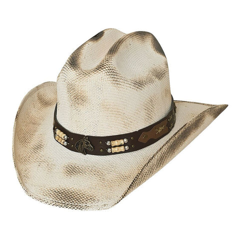 Bullhide Lockhart Natural Childrens Straw Hat - Hat - A - Tack