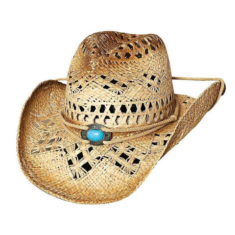 Bullhide Lost In Love Natural Straw Cowboy Hat - Hat - A - Tack