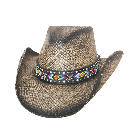 Bullhide Love Myself Black  Straw Cowgirl Hat - Hat - A - Tack