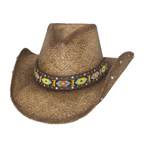 Bullhide Love Myself Brown Straw Cowgirl Hat - Hat - A - Tack