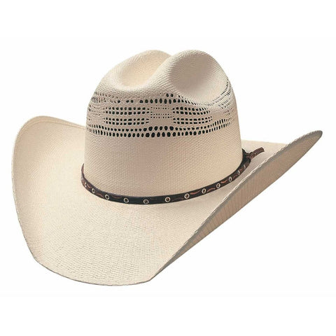 Bullhide Lubbock 20X Natural Straw Cowboy Hat - Hat - A - Tack