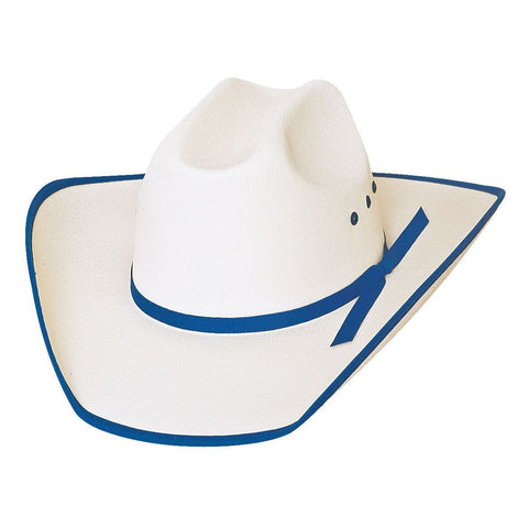 Bullhide Lucky Eight Blue Childrens Cowboy Hat - Hat - A - Tack