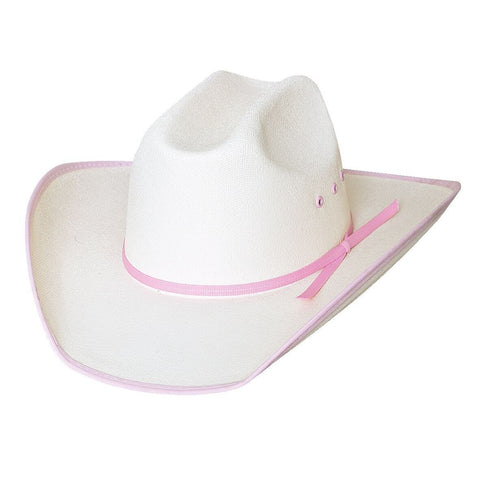 Bullhide Lucky Eight Pink Childrens Cowboy Hat - Hat - A - Tack