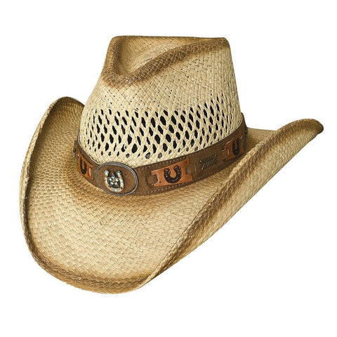 Bullhide Lucky Strike Natural Straw Cowboy Hat - Hat - A - Tack