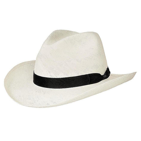 Bullhide Monaco Natural Straw Fedora Hat -Hat - A - Tack