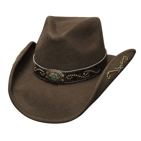 Bullhide More Than Friends Wool Chocolate Childrens Cowgirl Hat - Hat - A - Tack