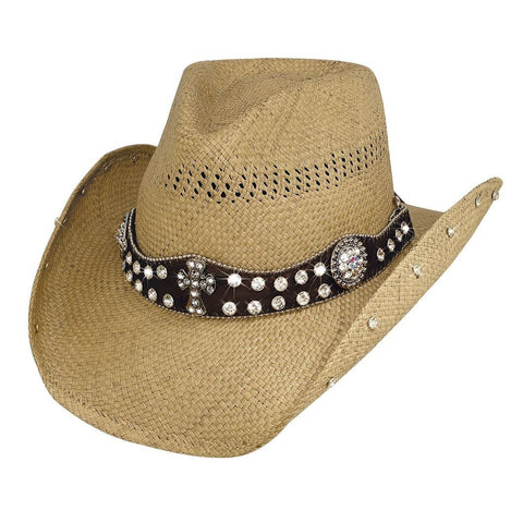 Bullhide More Than Words Pecan Straw Cowgirl Hat - Hat - A - Tack