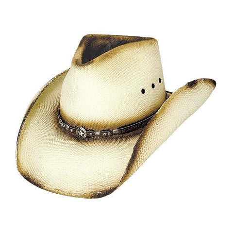 Bullhide Most Wanted Natural Straw Cowboy Hat - Hat - A - Tack