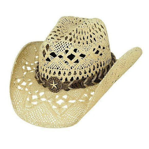 Bullhide Naughty Girl Natural Straw Cowgirl Hat - Hat - A - Tack