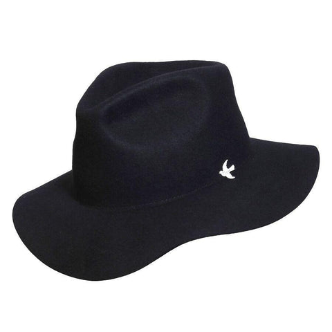 Conner Hats Nightcap Range Black Wool Hat - Hat-A-Tack