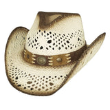 Bullhide Pure Country White Straw Cowgirl Hat - Hat - A - Tack