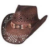 Bullhide Pure Country Brown Straw Cowgirl Hat - Hat - A - Tack