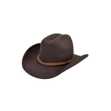 Eddy Bros. Pardner Brown Soft Felt Hat - Hat - A - Tack