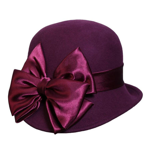 Conner Hats Penny Lane Cloche Mulberry  Hat - Hat-A-Tack