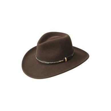 Bailey Recoil Fall Brown LiteFelt Soft Wool Hat - Hat - A - Tack