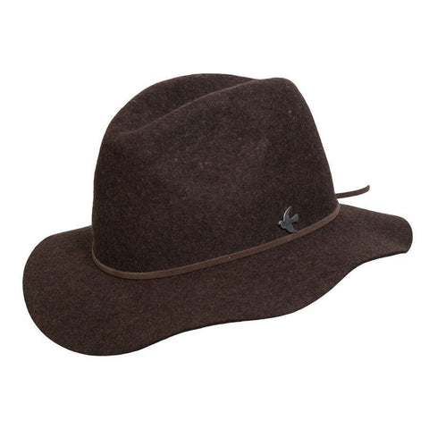 Conner Hats Rockaway Beach Brown Wool Hat - Hat-A-Tack