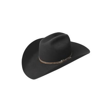 Bailey Roderick 3X Black Wool Cowboy Hat - Hat- A - Tack