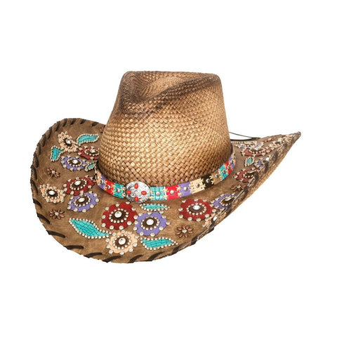 Bullhide Setting The World Natural Straw Cowgirl Hat - Hat - A - Tack