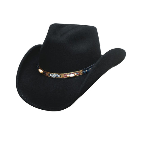 Bullhide Smart Play Black Wool Childrens Cowboy Hat - Hat - A - Tack