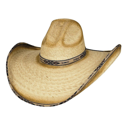 Bullhide Summer Haven 15X Natural  Straw Cowboy Hat - Hat - A - Tack
