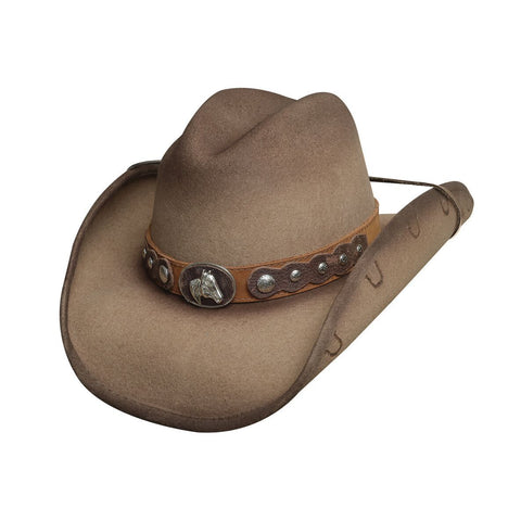 Bullhide Sunfisher Sand Wool Cowboy Hat - Hat - A - Tack