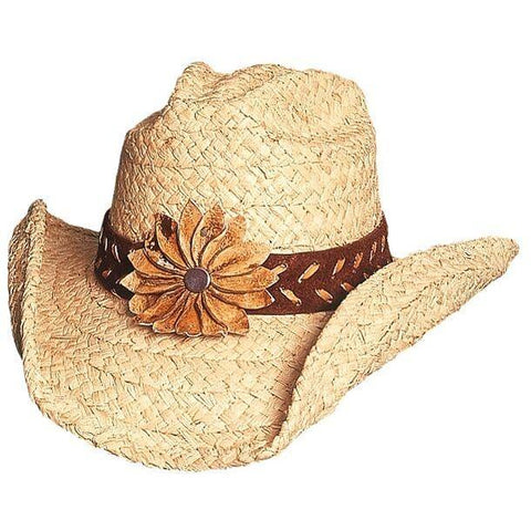 Bullhide Sunset Natural Straw Cowgirl Hat - Hat - A - Tack