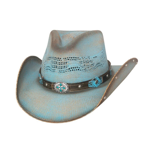 Bullhide Sunwest Turquoise Childrens Straw Hat - Hat - A - Tack