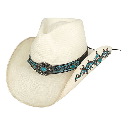 56e9030ebf85a Bullhide Sweet Seduction Natural Straw Cowgirl Hat - Hat - A - Tack