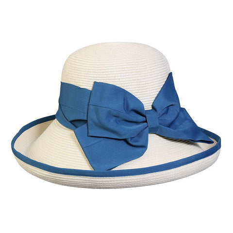 Conner Hats Secret Cove Straw Beach Aqua Hat -Hat-A-Tack