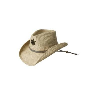 3afeb140dc77a Eddy Bros. Sheriff Natural Straw Childrens Cowboy Hat - Hat - A - Tack