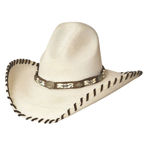 Bullhide The Last Chief 20X Natural Straw Cowboy Hat - Hat - A - Tack