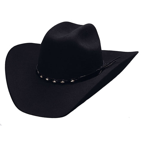 Bullhide True West 8X Black Fur Cowboy Hat - Hat - A- Tack