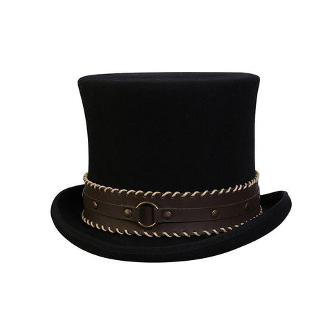 Conner Hats The Grinder Steampunk Hat - Hat-A-Tack