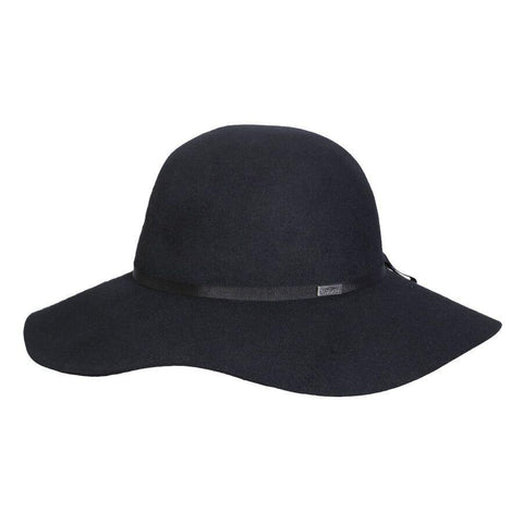 Conner Hats The Lauren Floppy Wool Black Hat - Hat-A-Tack