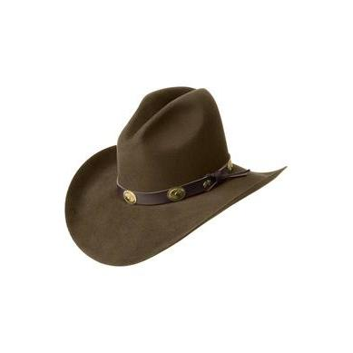 Bailey Tombstone 2X Pecan Cowboy Hat - Hat - A - Tack