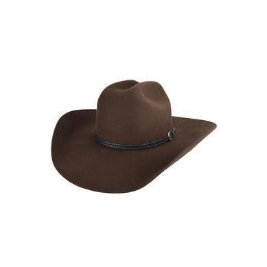 Bailey Traveller 2X Pecan Wool Cowboy Hat - Hat - A - Tack