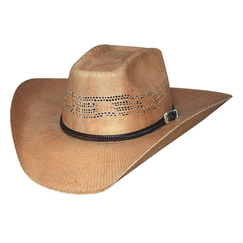 Bullhide Whiskey River 20X Natural Straw Cowboy Hat - Hat - A - Tack
